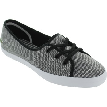 Chaussures Femme Baskets basses Lacoste Ziane Chunky gris