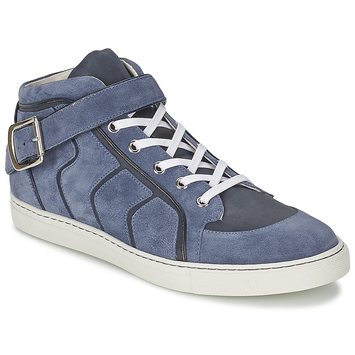 Basket montante Vivienne Westwood HIGH TRAINER Bleu