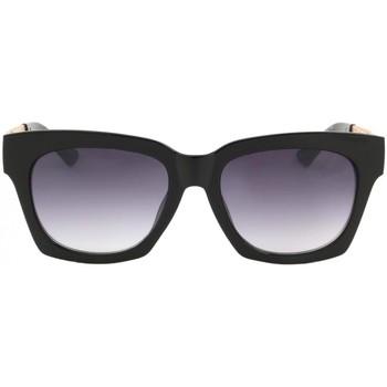Montres & Bijoux Femme Lunettes de soleil Eye Wear Lunettes de Soleil avec monture noire et dorée Salsa Noir