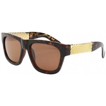 Montres & Bijoux Femme Lunettes de soleil Eye Wear Lunettes de soleil avec monture écaille Marron Zola Marron