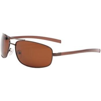 Montres & Bijoux Lunettes de soleil Eye Wear Lunette de soleil sport polarisé Marron Sigmund Marron
