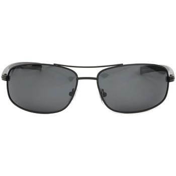 Montres & Bijoux Lunettes de soleil Eye Wear Lunettes de soleil sport polarisées Noire Sigmund Noir