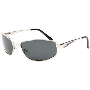 Montres & Bijoux Lunettes de soleil Eye Wear Lunettes de soleil polarisées sport argent Dake Gris