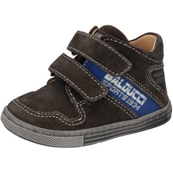 Chaussures Garçon Baskets montantes Balducci sneakers gris daim AD586 gris