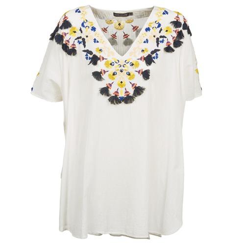 Vêtements Femme Tuniques Antik Batik DOVE Blanc