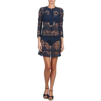 Leane Courtes Vêtements Antik Robes Marine Batik Femme hrCtQds