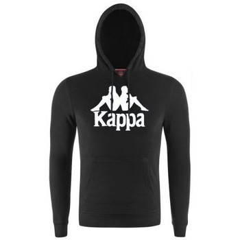 Vêtements Sweats Kappa Sweat à capuche slim fit rétro ZIMIM Noir