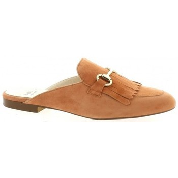 Chaussures Femme Mules Exit Mules cuir velours Rouille