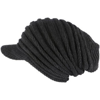 Accessoires textile Bonnets Nyls Création Bonnet Casquette Rasta Gris Kift Gris