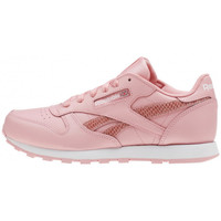 Chaussures Fille Baskets basses Reebok Sport Classic Leather Spring Junior - Ref. CN0306 Rose