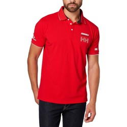Vêtements Homme Polos manches courtes Helly Hansen HP RACING POLO FLAG Rouge