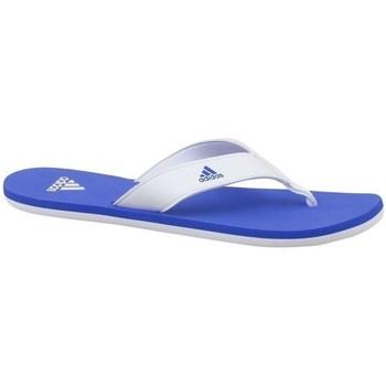 Chaussures Enfant Tongs adidas Originals Beach Thong 2 K Blanc-Bleu