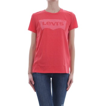 Vêtements Femme T-shirts manches courtes Levi's 17369 THE PERFECT TEE T-SHIRT Femme RED RED