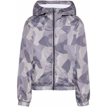 Vêtements Garçon Blousons Name It Kids NKMMIX AOP JACKET CAMP Gris