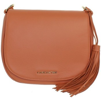 Sacs Femme Sacs Bandoulière LANCASTER Sac à main  en cuir ref_lan42608 orange 23*20*7 Orange