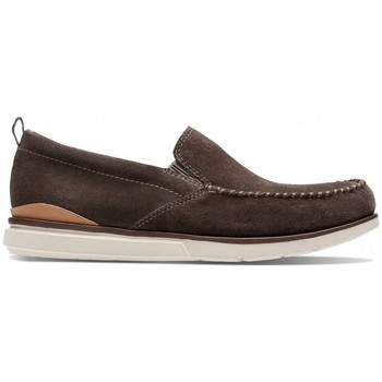 Chaussures Homme Mocassins Clarks Edgewood Step Marron