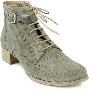 Chaussures Femme Boots Muratti boots lacée Gris