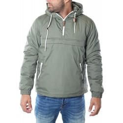 Vêtements Homme Parkas !solid KELEMEN Vert Olive