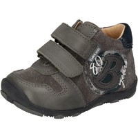Chaussures Garçon Baskets basses Balducci sneakers gris daim cuir AD594 gris