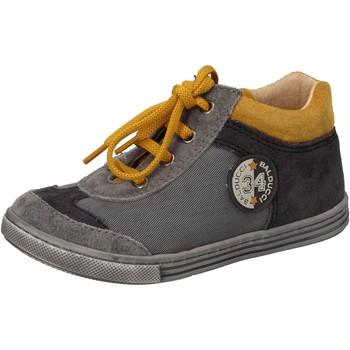 Chaussures Garçon Baskets montantes Balducci sneakers gris textile daim AD595 gris