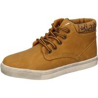 Chaussures Garçon Baskets montantes Blaike chaussures garçon  sneakers jaune cuir AD702 jaune