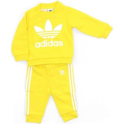 Vêtements Enfant Ensembles de survêtement adidas Originals CE1156 Sweat shirts Enfant Jaune Jaune