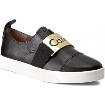 Chaussures Femme Baskets basses Calvin Klein Jeans e5681 noir