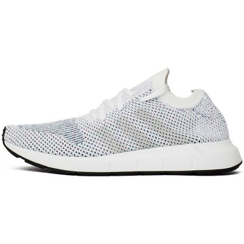 Chaussures Homme Baskets basses adidas Originals Swift Run Primeknit Grey One Blanc-Gris