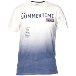 Vêtements Homme T-shirts manches courtes Deeluxe T-shirt Mojito blanccasse