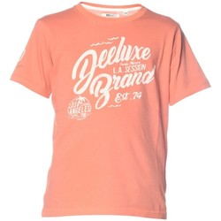 Vêtements Homme T-shirts manches courtes Deeluxe T-shirt logotypé Reaser orange