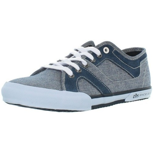 TBS Baskets  Ellias ref_tbs42850-chambray Bleu - Chaussures Baskets basses