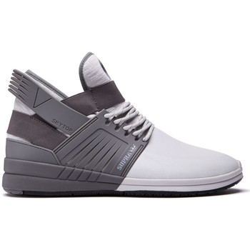 Chaussures Homme Baskets montantes Supra Chaussures  SKYTOP V grey light grey Gris