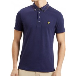 Vêtements Homme Polos manches courtes Lyle & Scott Polo Lyle Scott Check Bleu
