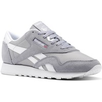 Chaussures Femme Baskets basses Reebok Sport CL NYLON NEUTRAL Gris