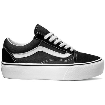 Chaussures Femme Baskets basses Vans ZAPATILLAS OLD SKOOL DE PLATAFORMA NEGRO