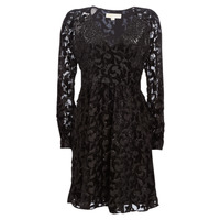 Vêtements Femme Robes courtes MICHAEL Michael Kors RAGLAN SLV SHORT DRS Noir