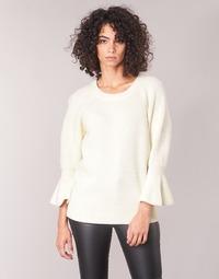 Vêtements Femme Pulls MICHAEL Michael Kors SHAKER ROUND SLV Blanc