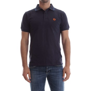 Vêtements Homme Polos manches courtes Save The Duck DR050M PIC06 POLO Homme BLUE NAVY BLUE NAVY
