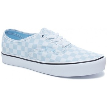 Chaussures Homme Baskets basses Vans Chaussures  U Authentic Lite - Baby Blue / True White Noir