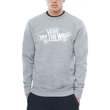 Vêtements Homme Sweats Vans Sweat  Mn Otw Crew - Cement Heather / White Outline Gris
