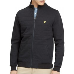 Vêtements Homme Sweats Lyle & Scott Sweat zippé Noir