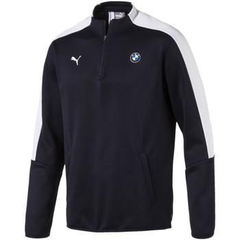 Vêtements Homme Vestes de survêtement Puma Sweat  Sweat Bmw Motorsport T7 1/2 Zip Track bleu