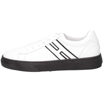 Chaussures Enfant Baskets basses Hogan Junior HXC3400K390G9Q0001 Basket Bébé Blanc Blanc