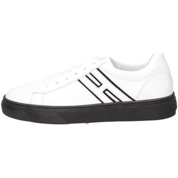 Chaussures Enfant Baskets basses Hogan HXC3400K390G9Q0001 Basket Bébé Blanc Blanc