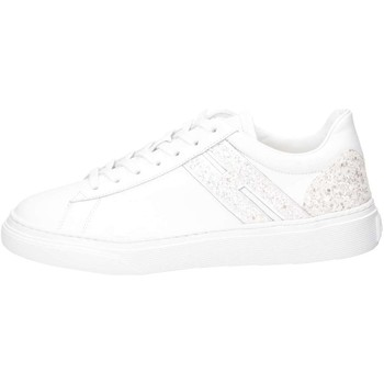 Chaussures Fille Baskets basses Hogan Junior HXR3650K390IDG0351 Basket Enfant Blanc Blanc