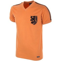 Vêtements Homme T-shirts manches courtes Copa Football Maillot Copa Pays-bas World Cup 1974-S orange/noir