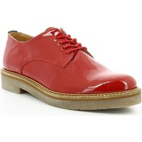 Chaussures Femme Ville basse Kickers Femme kickers derby rouge rouge