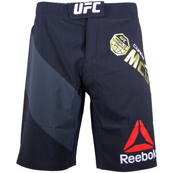 Vêtements Homme Shorts / Bermudas Reebok Sport UFC FIGHT KIT CHAMPION OCTAGON SHORT Short de Combat Homme Spee noirb39681