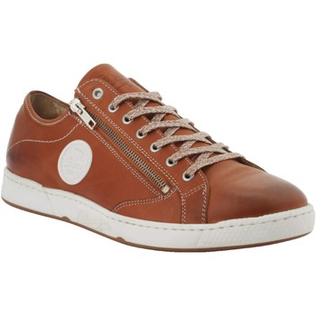 Chaussures Homme Baskets mode Pataugas Homme pataugas sneakers caramel Marron