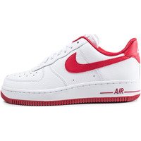 Chaussures Femme Baskets basses Nike Air Force 1 Low he Blanc/Rouge
